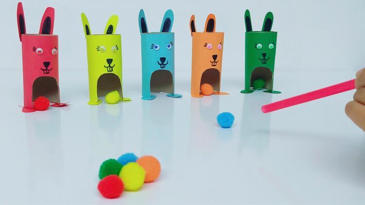 Sınıflandırma çalışması: Renkli tavşanlar