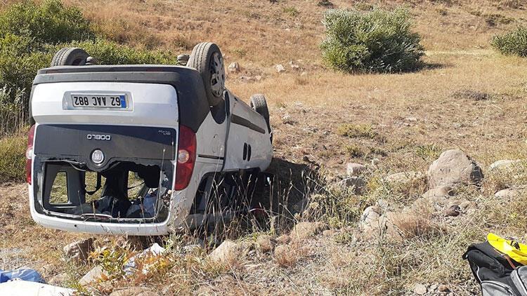 Tunceli'de feci kaza! Çok sayıda yaralı var