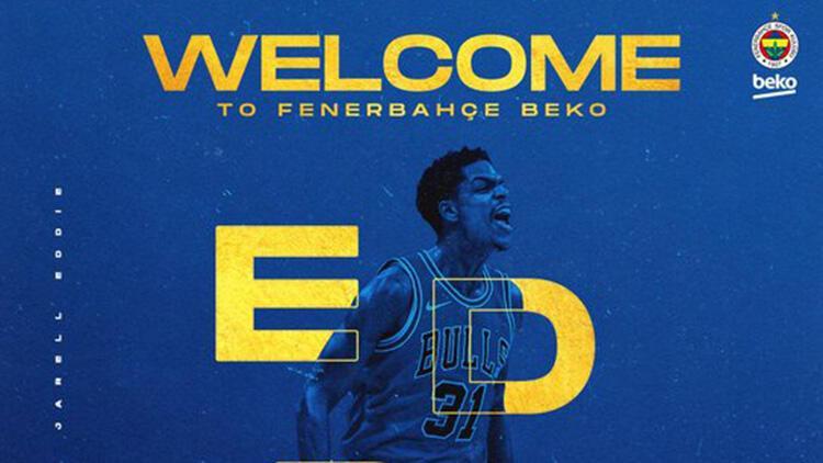 Son dakika   Fenerbahçe Beko, Jarell Eddieyi transfer ettiğini açıkladı