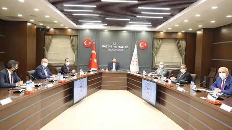 Hazine ve Maliye Bakanı Berat Albayraktan FİKKO toplantısı sonrası paylaşım
