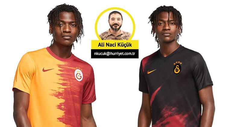 Galatasaray'ın yeni forması tartışma yarattı: Parçalı değil paramparça