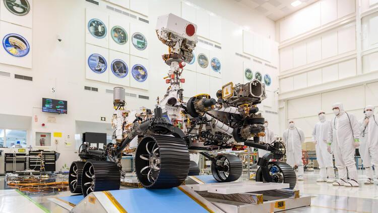 NASA, Perseverance aracını Marsa yolluyor