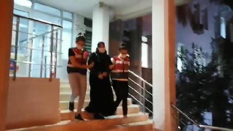Bursada DEAŞ üyesi kadın yakalandı