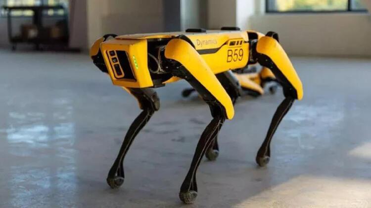 Robot köpek Spot, fabrikada işbaşı yapacak