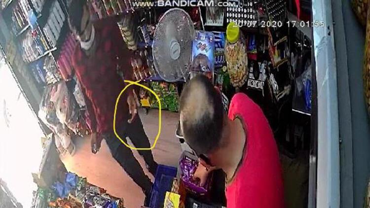 Kapkaç şüphelisi elindeki yara bandından yakalandı