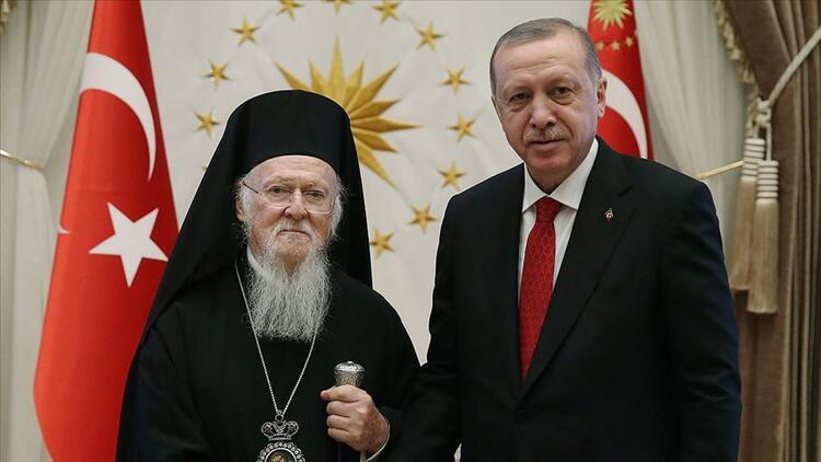 Bartholomeosdan Cumhurbaşkanı Erdoğana Sümela Manastırı teşekkürü