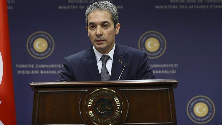 Dışişleri Bakanlığı Sözcüsü Aksoy'dan Lübnanlı siyasetçilerin Türkiye'ye ilişkin iddialarına tepki