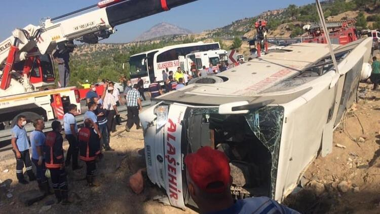 Mersin'deki otobüs kazasının tanığı şoför: Arkadaşlarımız son ana kadar mücadele etti