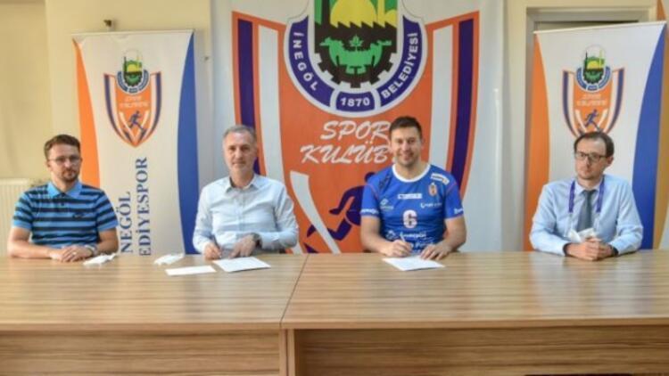 İnegöl Belediyespor, Nikola Gjorgievi transfer etti