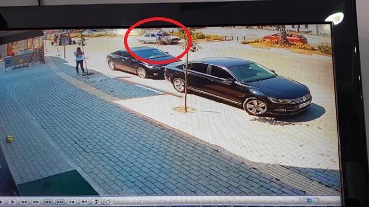Osmaniyede 2 kişinin yaralandığı kaza güvenlik kamerasında