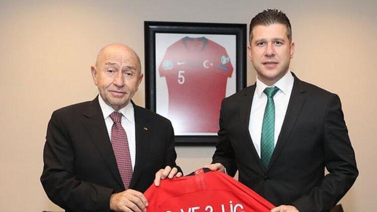 TFF 2. Lig ve TFF 3. Lig Kulüpler Birliği Başkanı Volkan Can: 'Alınan karar mutluluk verici'