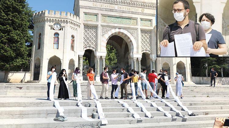 Hukuk öğrencilerinden 'zor sınav protestosu