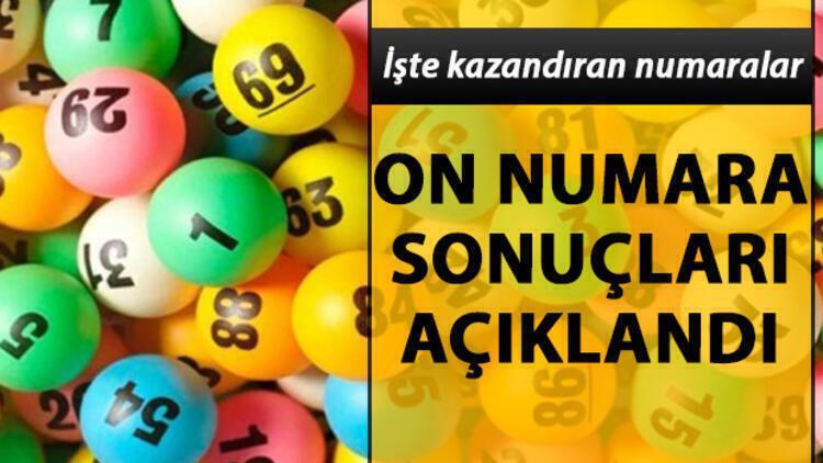 952'nci On Numara çekiliş sonuçları sorgulama ekranı: 29 Temmuz MPİ On Numara sonuçları belli oldu