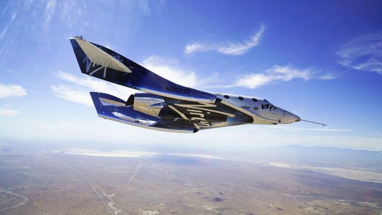 İngilterede ilk ticari uzay hava yolu mekiğinin iç tasarımı tanıtıldı