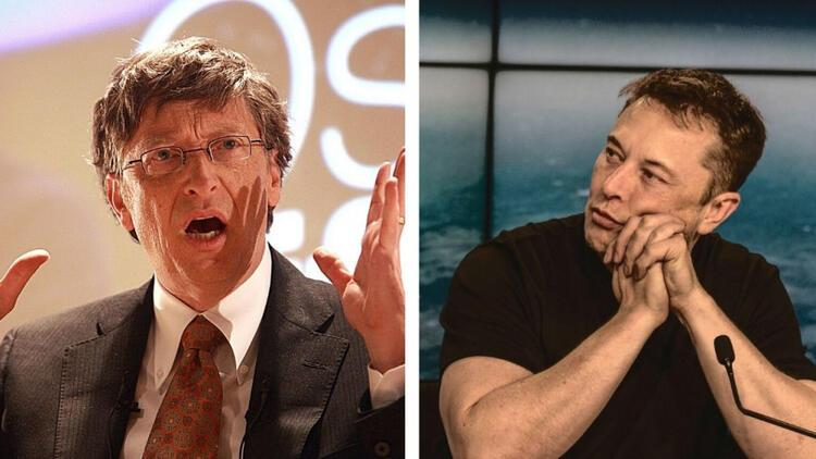 Bill Gatesten Elon Muska koronavirüs tepkisi