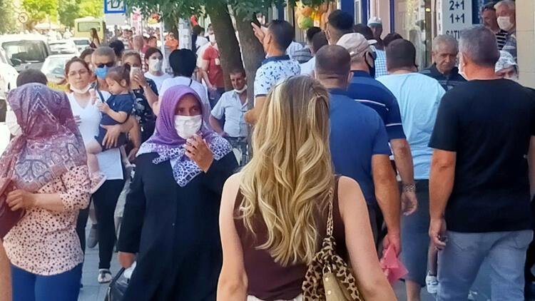 Edirne'de bir taksi şoförünün koronavirüs testi pozitif çıktı