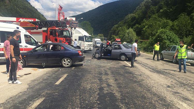 Karabükteki trafik kazası: 7 kişi yaralandı