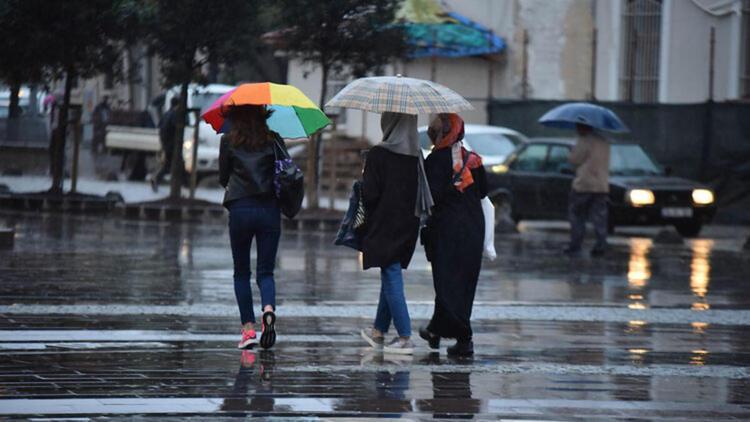Meteorolojiden 5 ile sağanak yağış uyarısı