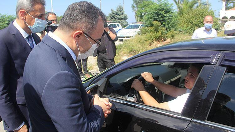 İçişleri Bakan Yardımcısı Çataklı Kastamonuda trafik denetimine katıldı