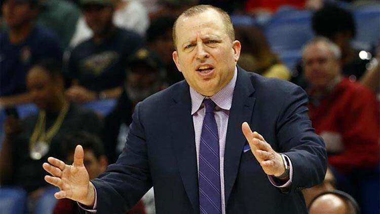 New York Knicks'te, takımın başına Thibodeau getirildi