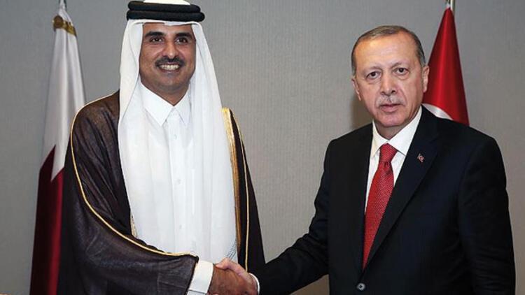 Son dakika haberi: Cumhurbaşkanı Erdoğan, Katar Emiri Al Sani görüştü