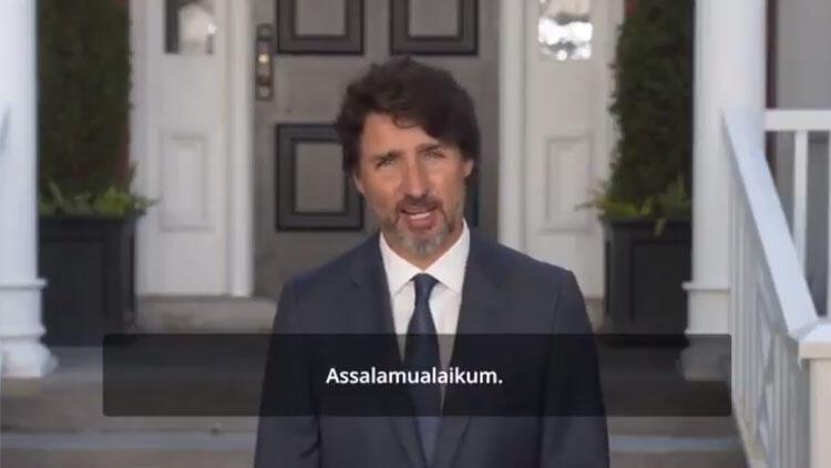 Kanada Başbakanı Justin Trudeau'dan Kurban Bayramı mesajı