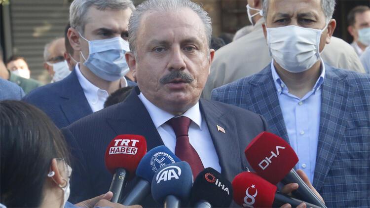 TBMM Başkanı Şentop Bayram Namazı'ndan sonra açıklama yaptı
