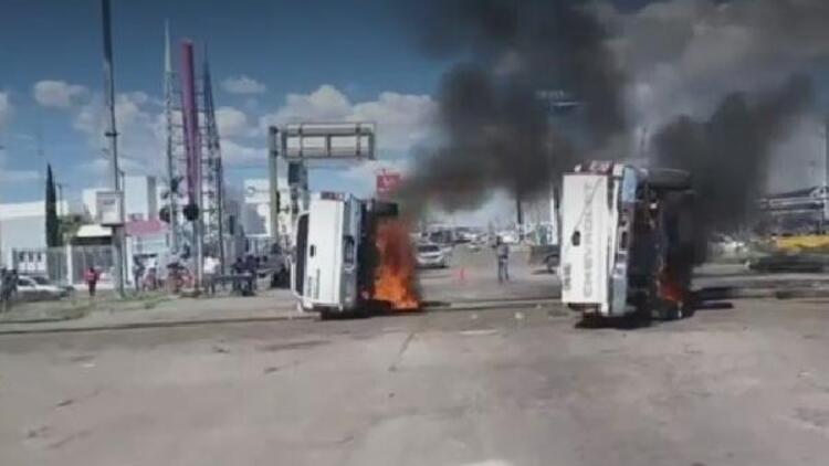 Meksika'da ABD'ye verilen suya protesto