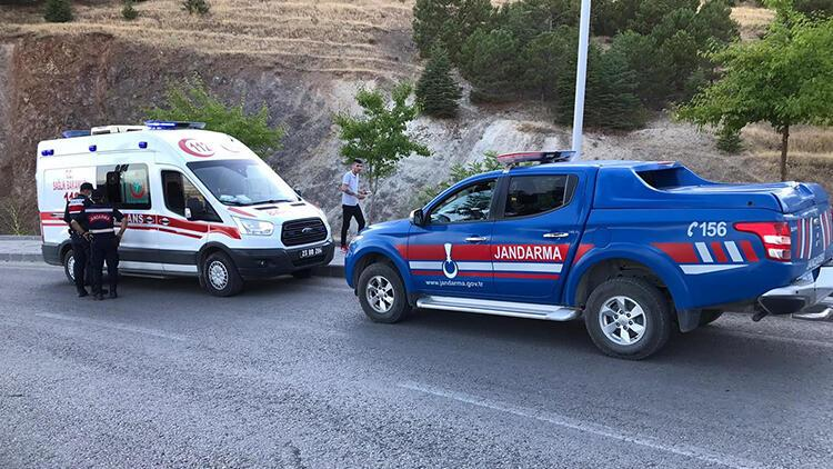Elazığ'da feci olay Uçurumdan düşen genç yaralandı