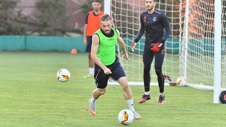 Medipol Başakşehirde Kopenhag maçı hazırlıkları sürüyor