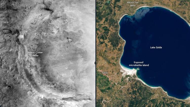 NASA'dan Salda Gölü ile ilgili şaşırtan açıklama