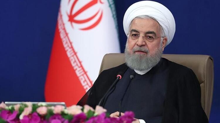 İran Cumhurbaşkanı Ruhani'den flaş koronavirüs açıklaması