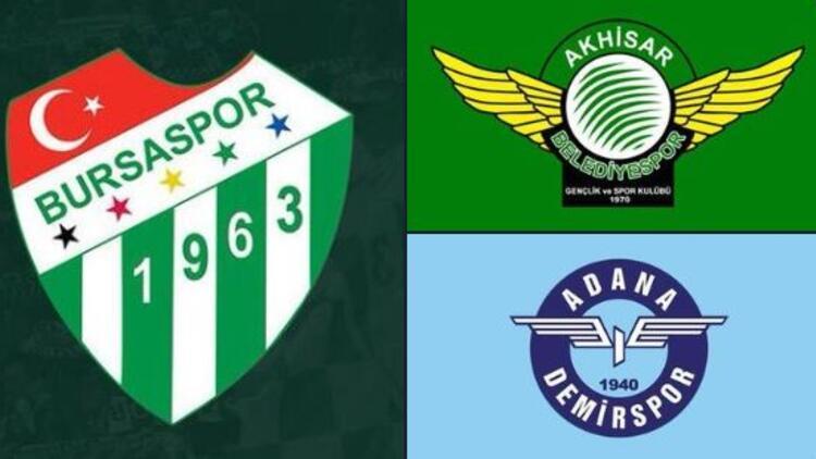 Bursaspor ve Akhisarspor, Süper Lig'e çıkmak için TFF'ye başvurdu! Adana Demirspor sırada...