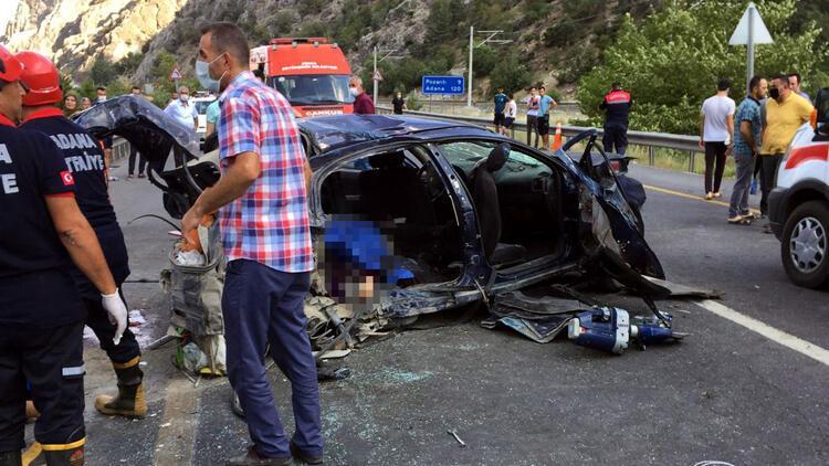 Son dakika... Adana'da korkunç kaza: 4 ölü, 2 yaralı