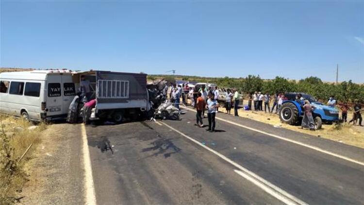 Bayram ziyareti sonrası korkunç kaza! 15 yaralı