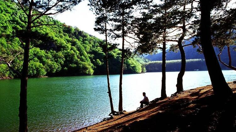 Sessizliği, sakinliği ve doğasıyla keşfedilmeyi bekliyor: Boraboy Gölü