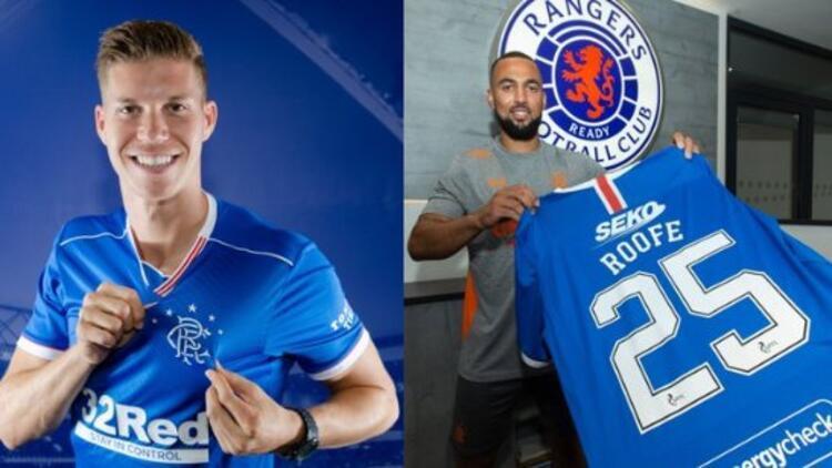 Rangers'tan forvete 2 takviye! Kemar Roofe ve Cedric Itten...