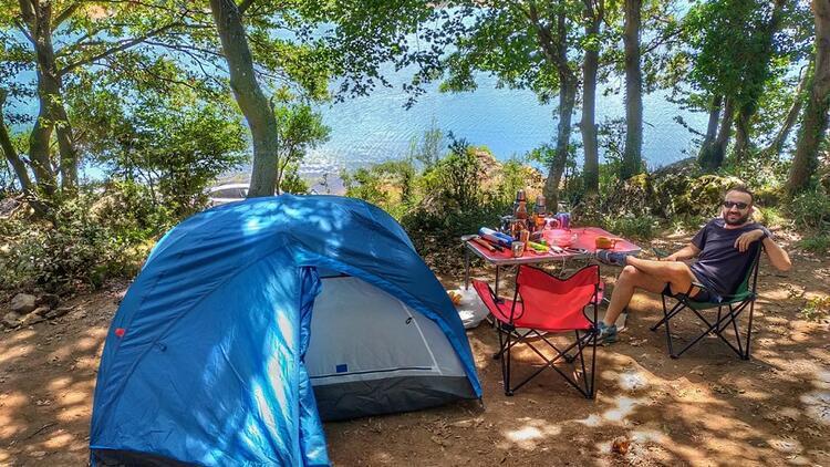İstanbul'un en az bilinen kamp alanı: Darlık Barajı