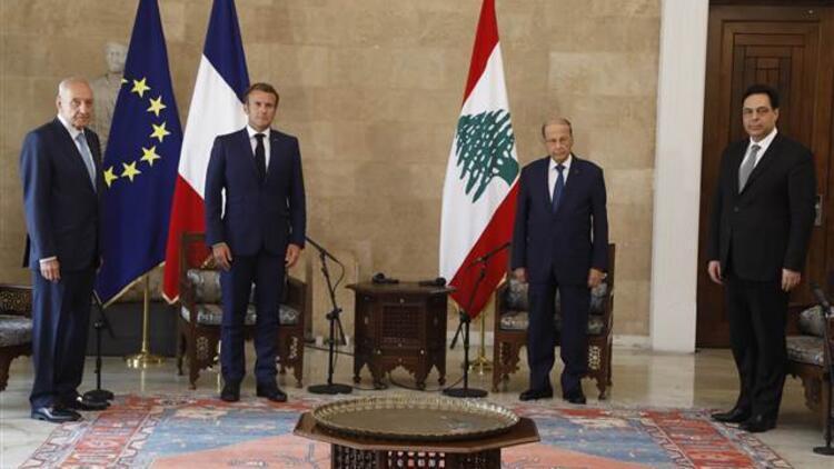 Macron'dan Beyrut Limanı'ndaki patlama için çağrı