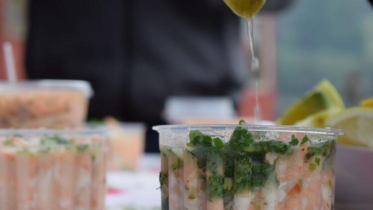 Levrek marin (ceviche) nasıl yapılır? Levrek marin tarifi