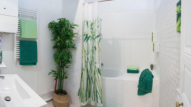 Banyo perdesi nasıl temizlenir?