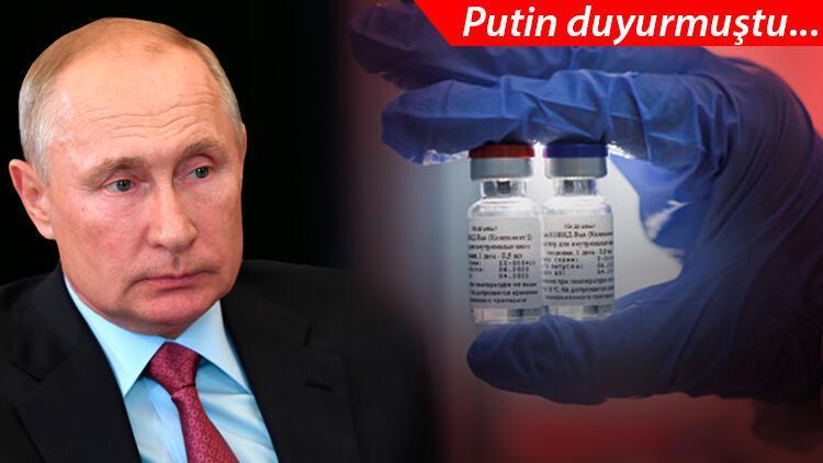 Son dakika haberi: Putin açıkladı, dünya sarsıldı! Koronavirüs aşısında bir ilk