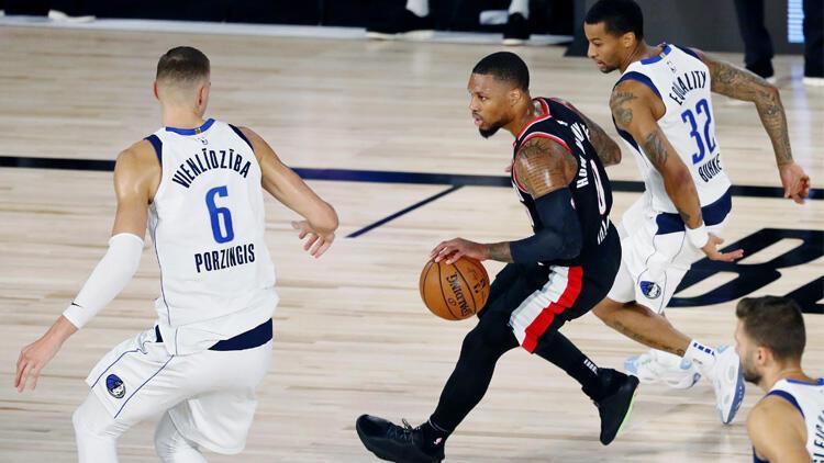 NBA'de gecenin sonuçları | Lillard 61 sayı attı, müthiş maçı Portland kazandı!