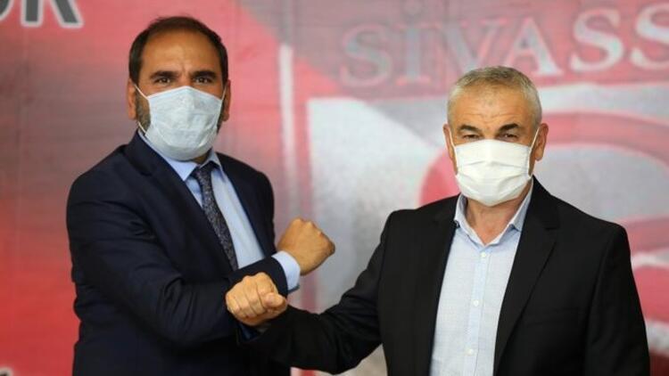 Sivasspor, Rıza Çalımbay ile sözleşme yeniledi! Robin Yalçın transferi açıklandı...