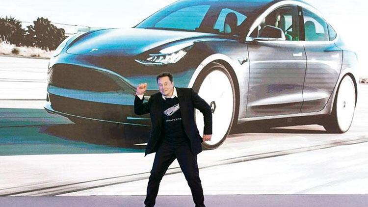 Tesla borsada  1'e 4 veriyor