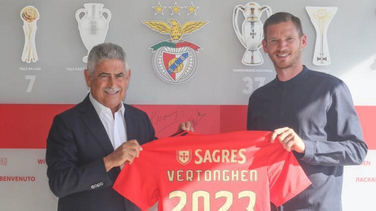 Benfica, Jan Vertonghen'i transfer etti