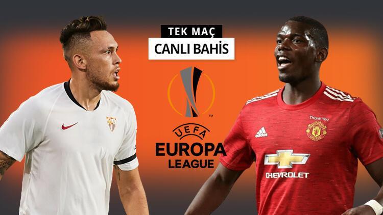 Avrupa Ligi'nde ilk finalist belli oluyor! Sevilla'ya Manchester United karşısında verilen iddaa oranı...