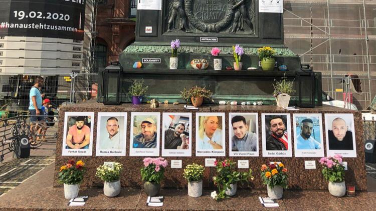 Hanau kurbanları için anma