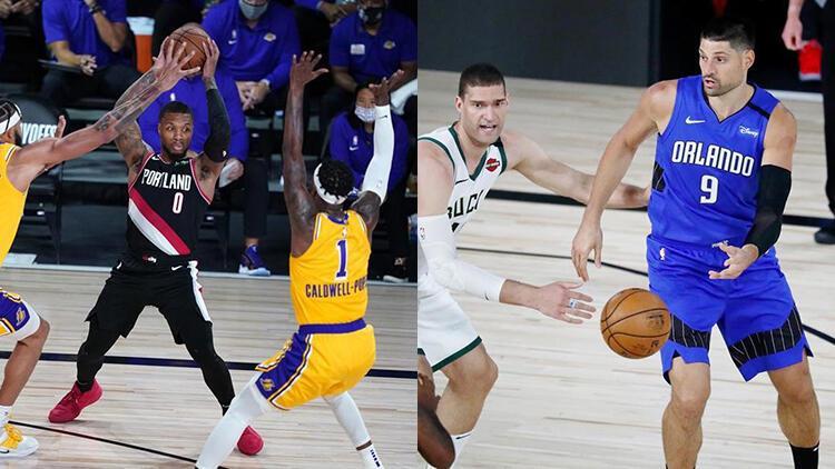 NBA'de Gecenin Sonuçları | Konferans liderleri Lakers ve Bucks'a play-off dersi!