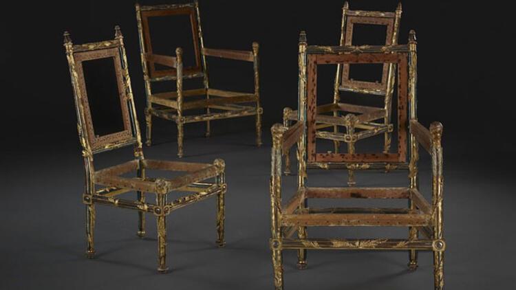 1778 yılında yapılmıştı! 4 sandalye 1 milyon İngiliz pounduna satıldı